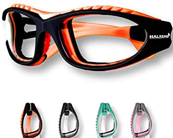 Onion Goggles Tear Free - Anti Fog - Anti Scratch - One Size Fit All - Stylish Glasses for Cutting and Cooking  Orange