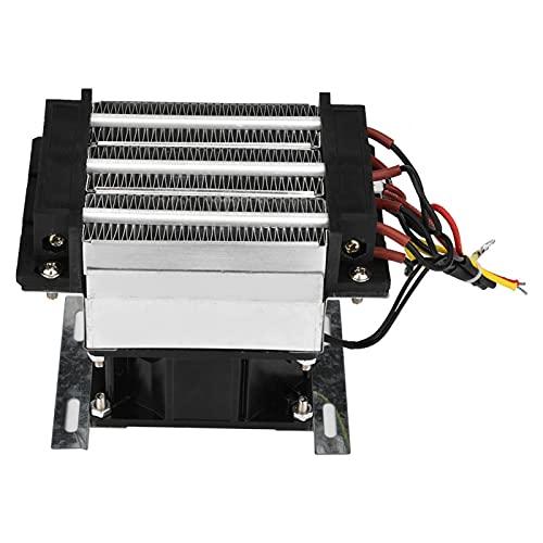 Elemento de calefacción de aire eléctrico de aire calentador de aire de cerámica 400W 220V para horno armario de zapatos zapatos secos para invernadero habitación cálida