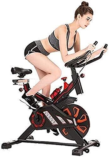 RSBCSHI Fitness Ejercicio Bicis Avanzada Spinning Indoor Bicycle Sports Fitness App Smartphone con la computadora de Entrenamiento y el Entrenador de Cruce elíptico Estable y cómodo diseño