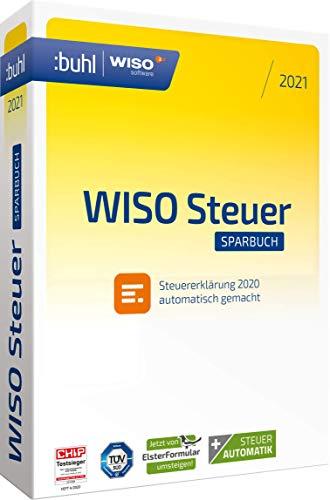 WISO Steuer-Sparbuch 2021 (für Steuerjahr 2020|Standard Verpackung)