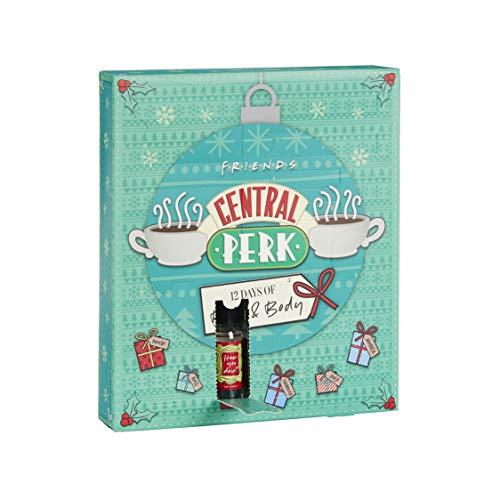 Paladone Central Perk Calendrier de lavent 12 Jours de Bain,