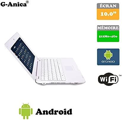 Netbook Laptop Ultrabook Android 4 2 nbsp HDMI  cr  10 nbsp  Wifi-SD-mmc  wei  10 1 pouces