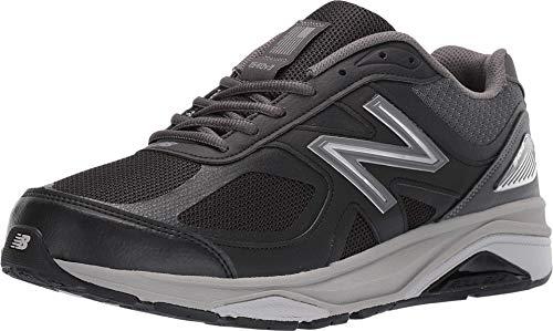 New Balance Men's Made 1540 V3 Running Shoe, Black/Castlerock, 10.5 M US