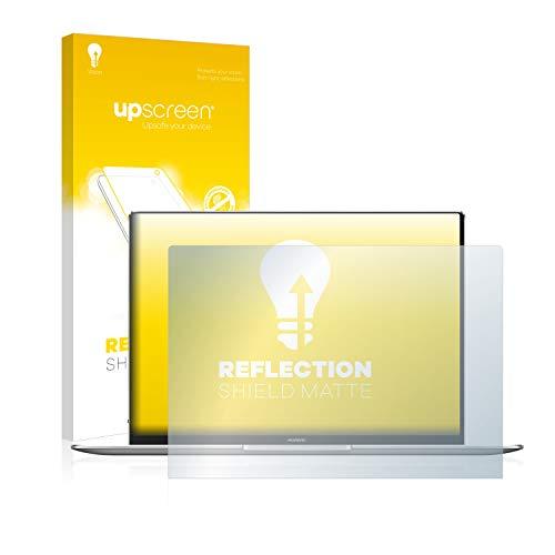 upscreen Entspiegelungs-Schutzfolie kompatibel mit Huawei MateBook X Pro 2020 – Anti-Reflex Bildschirmschutz-Folie Matt