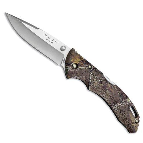 Buck Couteau de Poche Pliant Bantam - Manche Camouflage Realtree