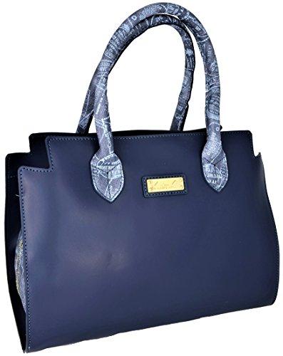 ALVIERO MARTINI Borsa Bauletto Tracolla Donna Marine/Denim Bag Woman...