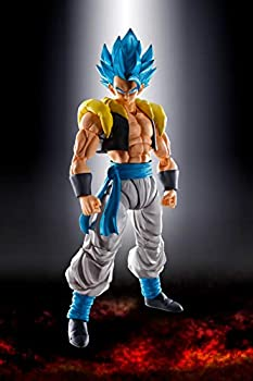TAMASHII NATIONS Bandai S.H Figuarts Super Saiyan God Super Saiyan Gogeta Dragon Ball Super  Broly Action Figure