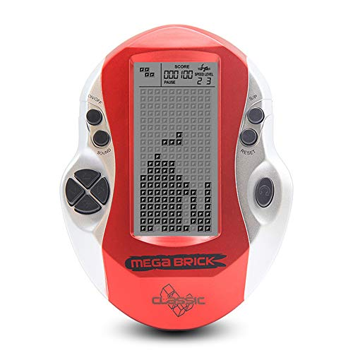 FEIGER Throwback Classic Game Console, Pocket Handheld Videojuegos Consola 3in LCD Mini...