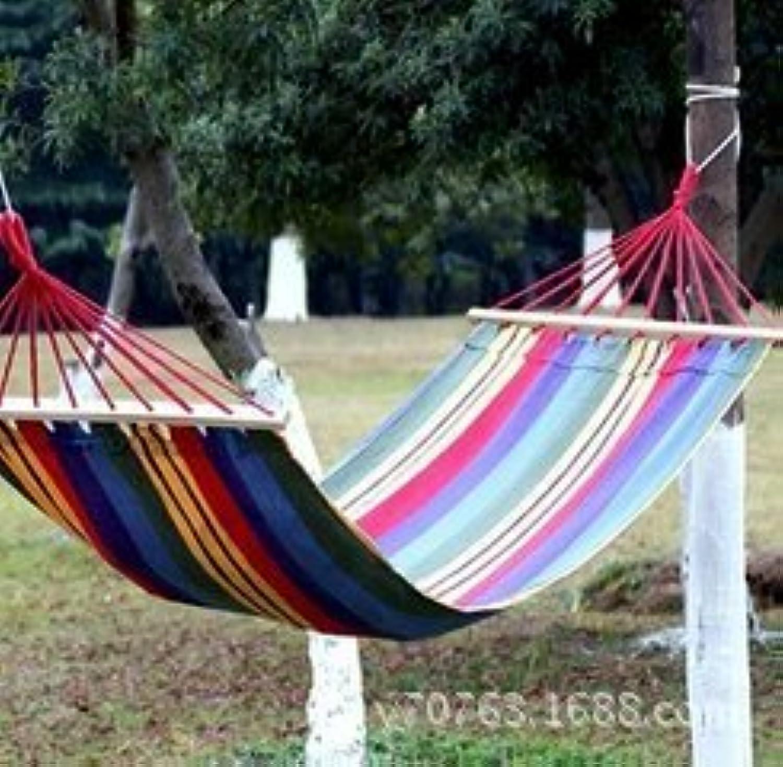 Canvas hammocks Hammock Single Single Hammock hammocks Outdoor Canvas Belt Hanging Basket