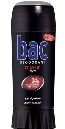 BAC DEO Stick classic BDS 21, 40 ml