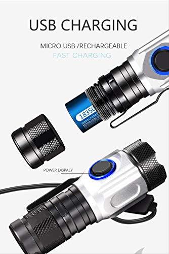 Linterna 9 LED/'s metal lámpara de bolsillo extremadamente Hell soportable
