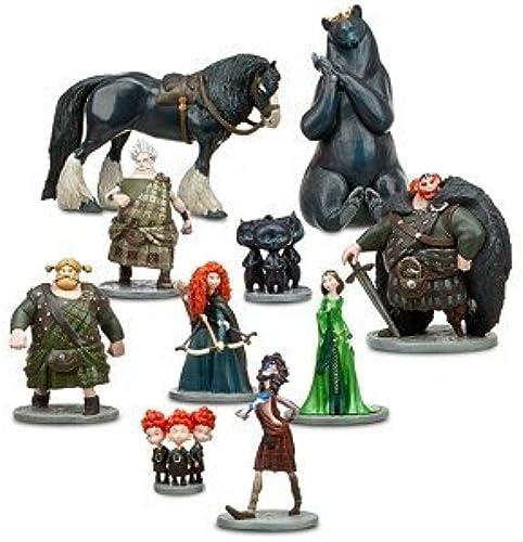 hasta un 65% de descuento Disney Pixar Pixar Pixar Brave Deluxe 10 PC Figurine Set by Disney  nuevo sádico
