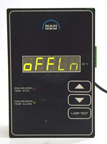 MAN B&W 0150-B 98-067128 Alto Rodamiento Temperatura Pare Alarma Hmi Panel Pantalla ( Imi- 1125040675182)