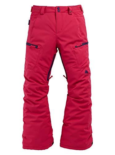 Burton Elite Cargo, Pantaloni da Snowboard Bambina, Punchy Pink, S