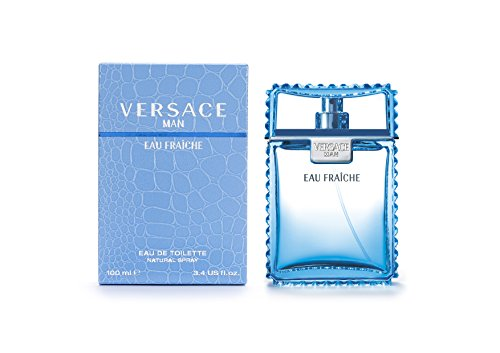 Versace Man Eau Fraiche By Gianni Versace For Men Edt Spray 3.4 Fl. Oz