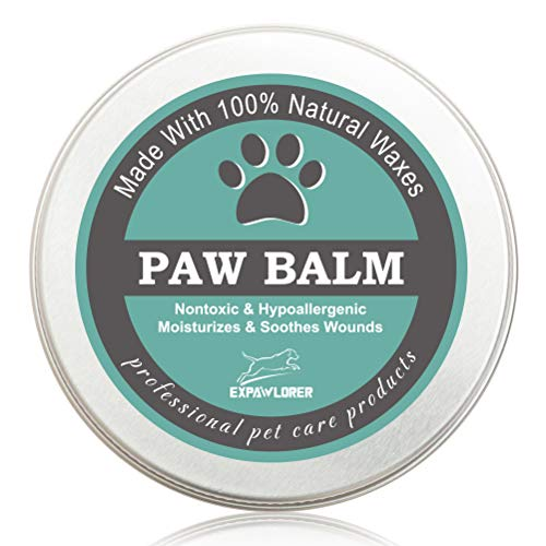 EXPAWLORER 100% Natural Pet Paw Protection Wax Paw Balm for Dogs and Cats, Foot Protection, Cracked...