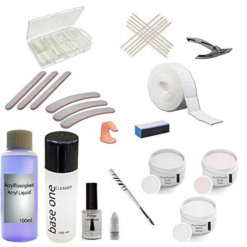 Acryl Set XL Nail Starterset Acryl XL