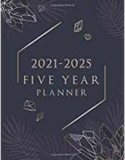 five year planner 2021-2025: 60 Months Calendar, 5 Year Monthly Appointment Notebook, Agenda Schedule Organizer Logbook with Federal Holidays
