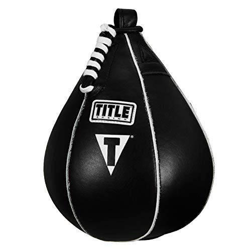 Title Boxing Super Speed Bag, Black, 7' x 10'