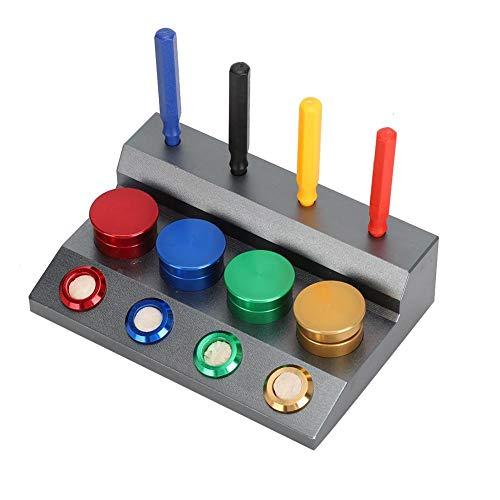 4 Juego de herramientas de reloj, Juego de reparación de reloj, Engrasador de reloj de vajilla Herramienta de inmersión de aceite de reloj, Portavasos de grasa