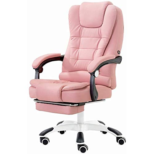 WDZJM Game chair, extremely comfortable design, home office computer, rotating metal material, home desk chair, reclining boss chair, massage chair (Color : A, Size : 1)
