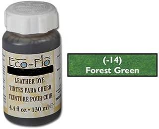 Tandy Leathercraft Eco-flo Forrest Green Dye 4.4 Oz 2600-14