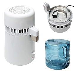 Pevor 4L Countertop Home Water Distiller Machine Stainless Steel Internal...