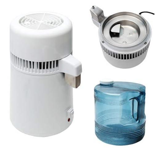 Pevor 4L Countertop Home Water Distiller Machine Stainless Steel Internal Pure Water Distiller Water Filter Distilled… 3