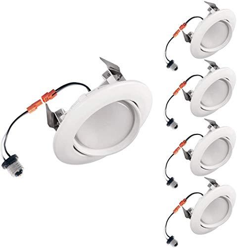 General LED-Stehlampen-Ersatzsatz, bidirektionaler Beat 4 Zoll (ca. 10,2 cm) weiß-4 Packung_4000K (helles Licht)