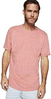 Springfield - Basic T-Shirt - pink