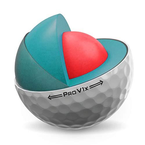 Titleist Pro V1X Golf Ball, White