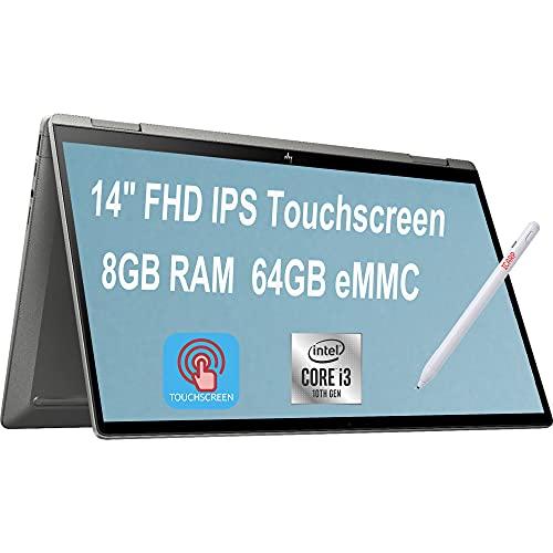 Newest 2020 HP Chromebook x3602-in-1 Laptop