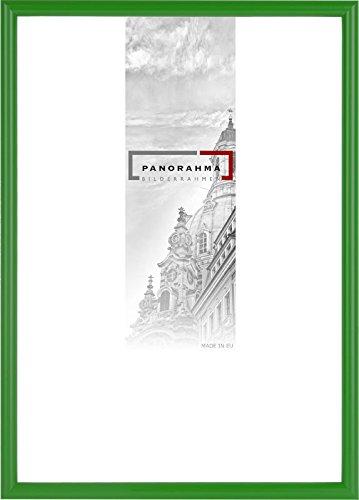 Kunststoff Bilderrahmen, Bildformat: 29,7 x 42 cm (DIN A3), Grün, Echtglas