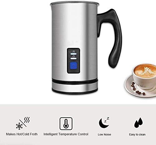 Elektrische Handheld Mixer, Automatic Milk Mixer Koffieapparaat Frother Met 3 Functies Thuis Foam Density verwarming for Latte Cappuccino zhihao