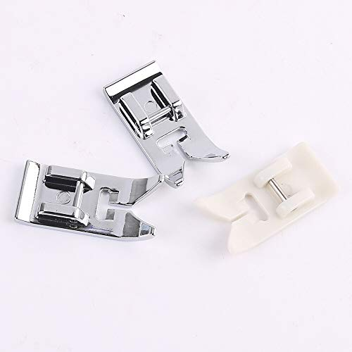 3 Pcs Universal General Purpose Zig Zag Foot for Singer, Brother, Janome, Kenmore, babylock, Toyota, etc. Domestic Low Shank Sewing Machines