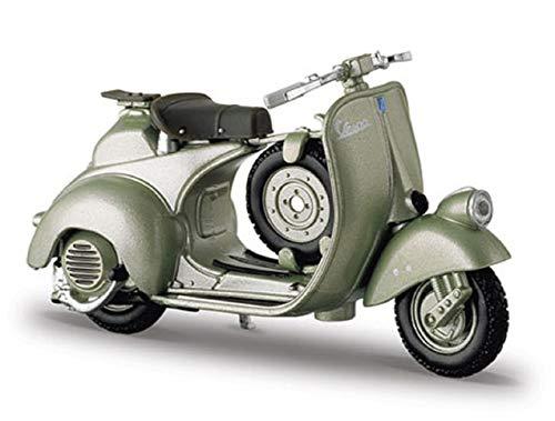 NEW MAISTO MI4332G Vespa Sport 6 Giorni 1952 Metallic Green 1:18 MODELLINO Die Cast