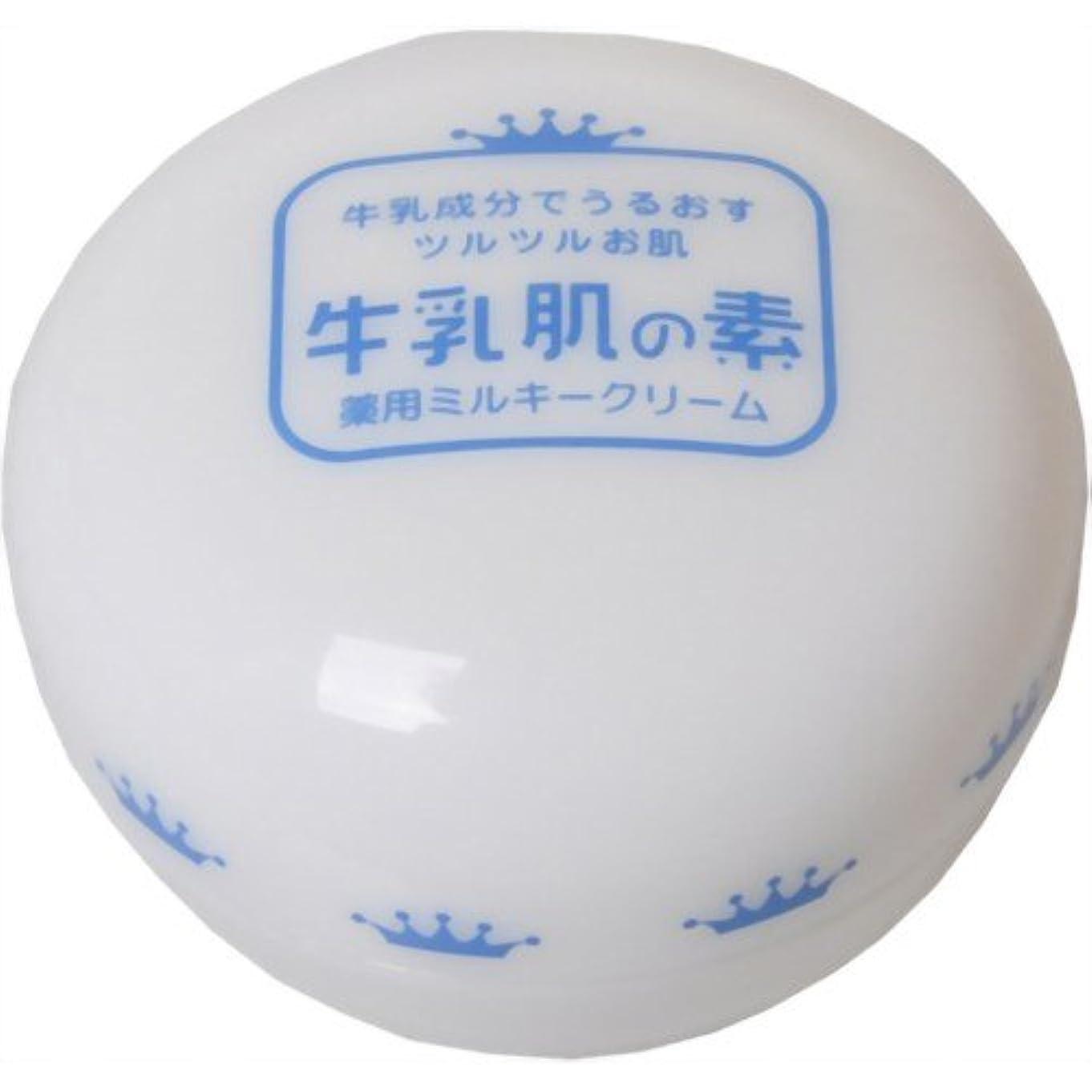 キャンベラ発疹蒸発する牛乳肌の素 薬用ミルキークリーム 20g