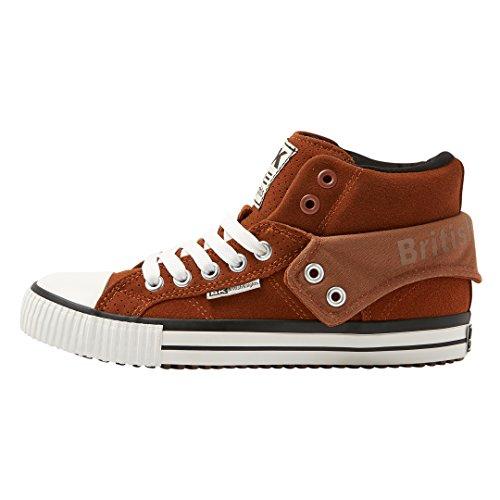 British Knights Unisex-Erwachsene ROCO Hohe Sneaker, Braun (Cognac 3), 42 EU