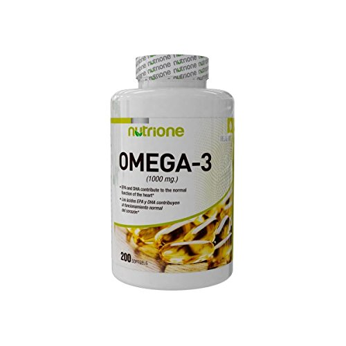 Nutrione Integratore Alimentare a Base di Omega 3-200 softgels