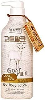 Best goat milk uv body lotion Reviews