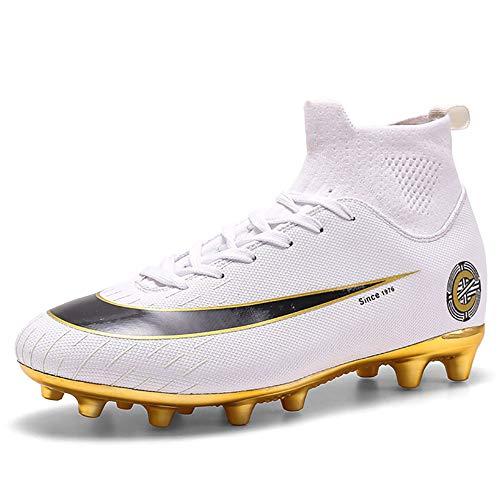C Luo Assassin 13 Generatie hoge top voetbalschoenen mannelijke en vrouwelijke studenten AG nagels vergulde TF gebroken nageltraining schoenen