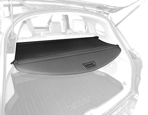 Tyger Auto Black Retractable SUV Rear Trunk Cargo Cover Shield Compatible with 12-17 Acura RDX (with Power Lift Gate ONLY)