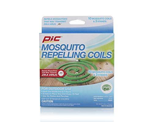 Pic Mosquito Repellent Coils (Box of 10 Coils), Package May  Vary