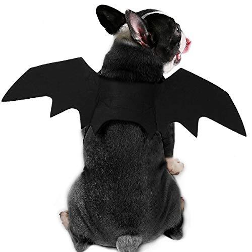 BbearT® Halloween-Kleidung für Tiere, aus Filzstoff, Fledermausflügel, für Hunde, Katzen, verschiedene Größen