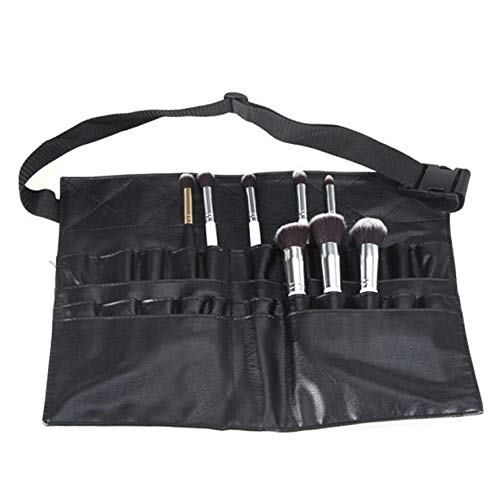 Grote tas make-up borstel tas heuptas zwart professioneel make-up tool