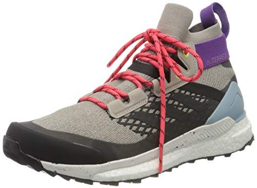 adidas Damen Terrex Free Hiker W Fitnessschuhe, Mehrfarbig (Marsua/Carbon/Gricen 000), 38 2/3 EU