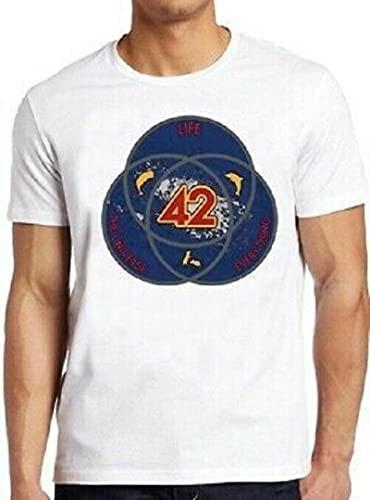Venn Diagram Life Universe Everything Funny Vintage Tee T Shirt