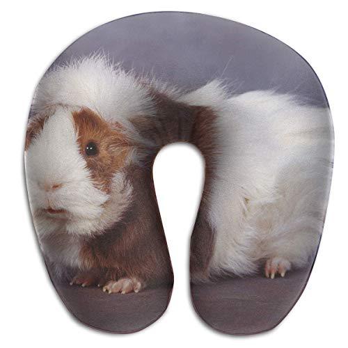Almohada para el Cuello Cute Hamster Travel Almohada en Forma de U Memoria Suave Soporte para el Cuello para Tren Avión Dormir