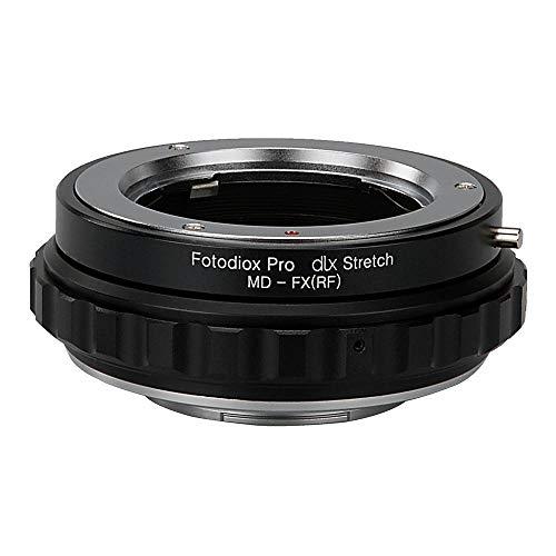 Fotodiox DLX Stretch Lens Mount Adapter - Minolta Rokkor (SR/MD/MC) SLR Lens Compatibel met Fuji X-Series Mirrorless Camera Body met Macro Focusing Helicoid en Magnetic Drop-In filters