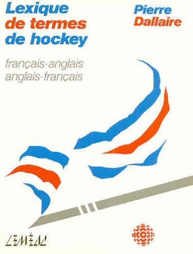 Lexique de termes de hockey